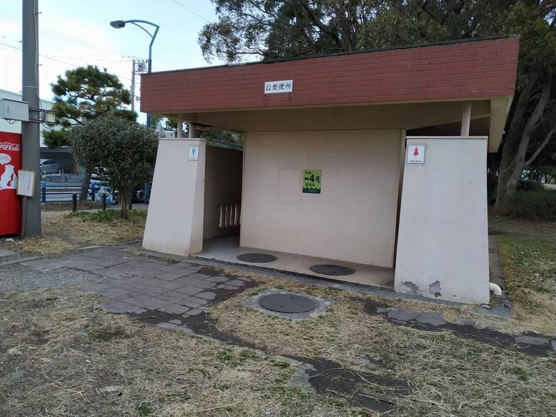 京浜島つばさ公園のトイレ