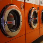 背の低い洗濯機