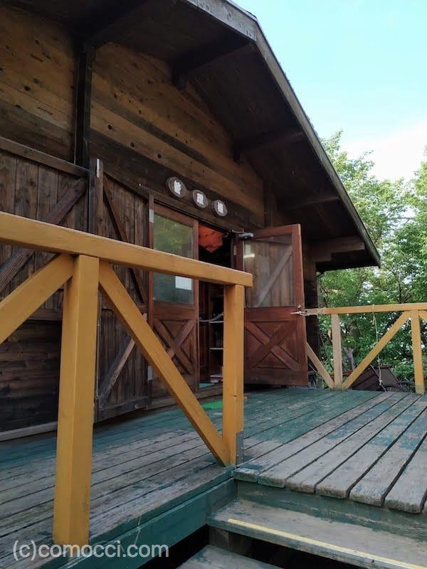 田浦青少年自然の家キャンプ場の様子
